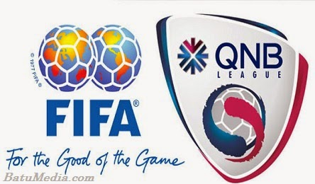 Logo QNB League dan FIFA