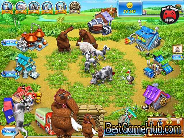 Farm Frenzy 3 Russian Roulette High Compressed PC Game Free Download