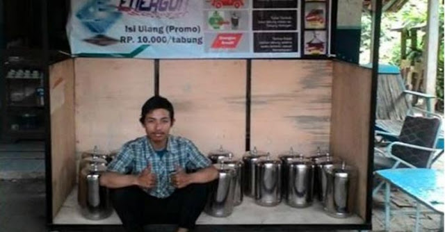 Temukan Kompor Berbahan Bakar Air, Pemuda Ini Jadi Incaran Asing