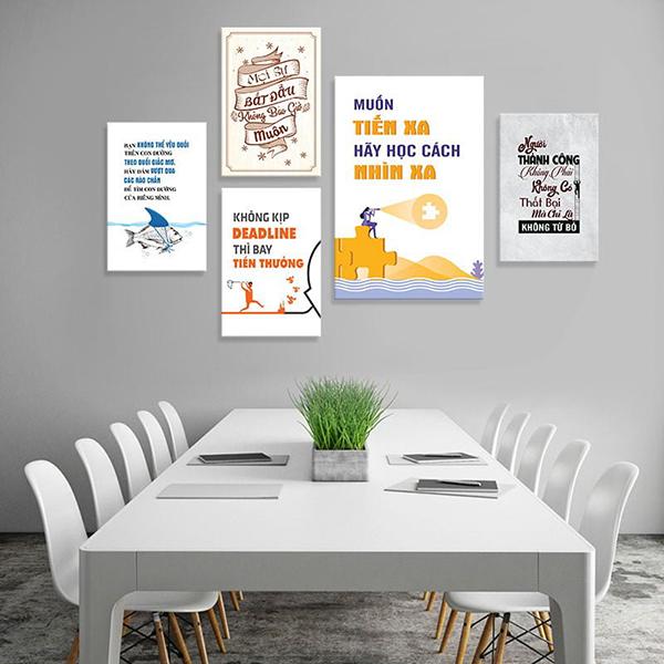 Cách chọn tranh trang trí văn phòng