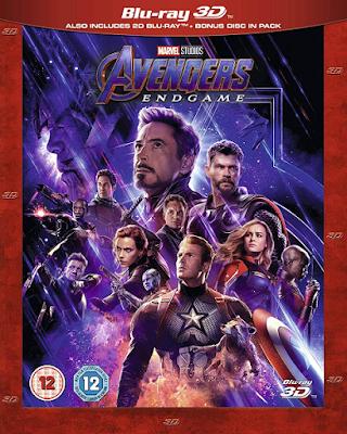 Avengers Endgame [2019] [BD25] [3D] [Latino]