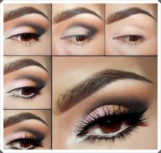 Çeşitli Göz Makyajı Yapım Örnekleri 4