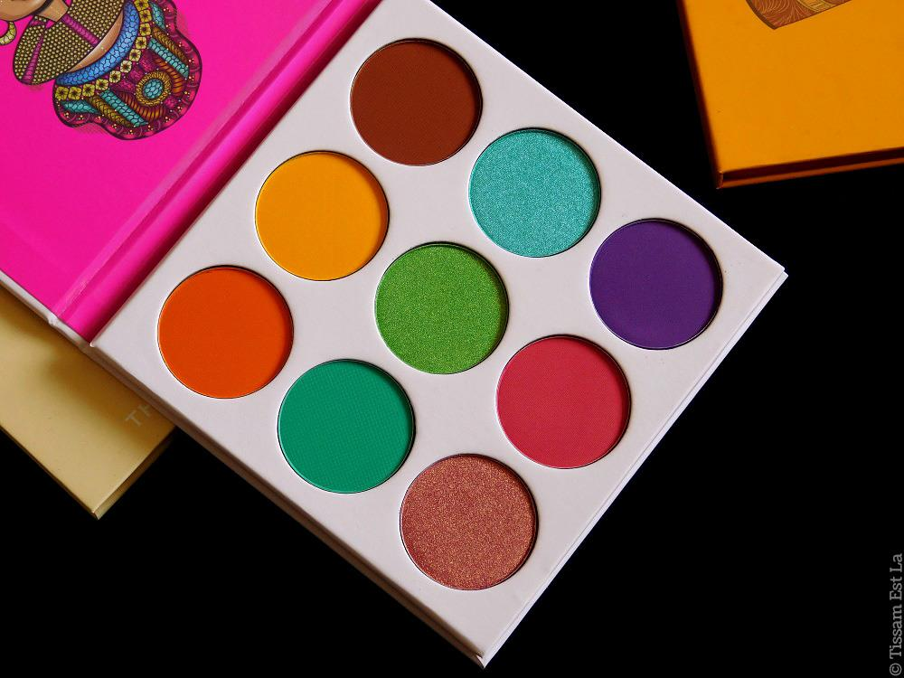 Juvia's Place - The Zulu Eyeshadow Palette Review & Swatches - Avis Ckarlysbeauty - Nubian - Nubian 2 - Saharan - Saharan 2 - Magic Palette - Saharan Blush Volume 1 & 2 - Masquerade
