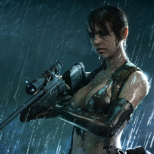 Quiet ( Metal Gear Solid V ) Wallpaper Engine