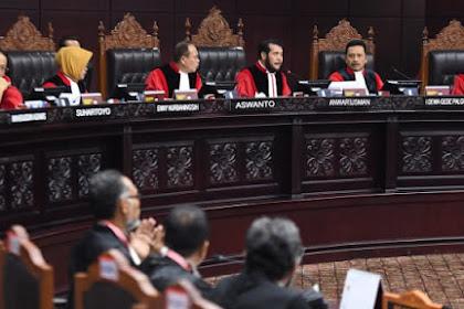 Putusan MK: Menolak Seluruh Gugatan Prabowo-Sandi