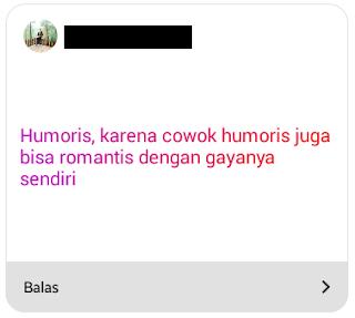 Romantis atau humoris?