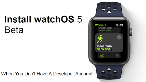 How to Install watchOS 5 Beta When You Don't Have A Developer Account?