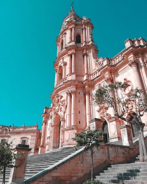 Modica Duomo di San Giorgio foto