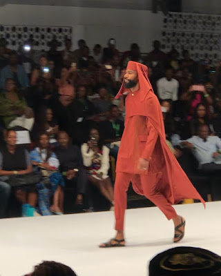 Mike and Ike #BBNaija walk and model for Ugo Monye at Lagos fashion week 2019