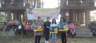 Firmina Tallulembang Menggelar Sosialisasi Nilai-nilai Kebangsaan bersama Komunitas Indo' Toraya