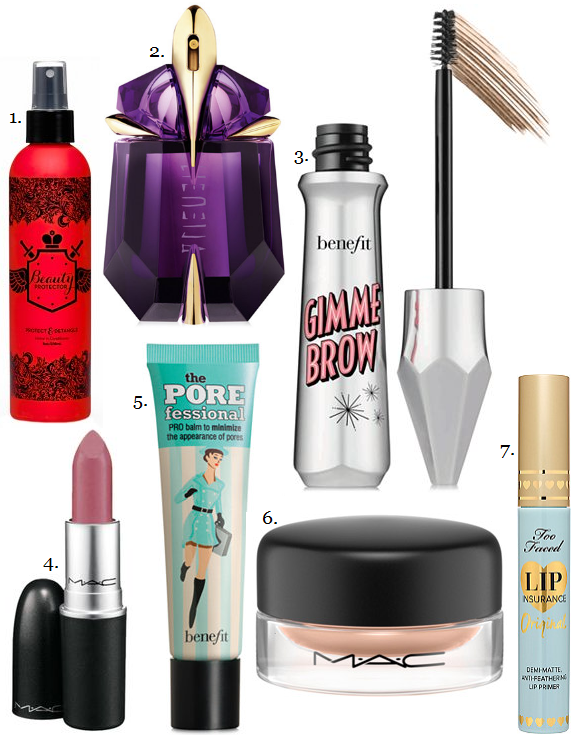 Sequins and Skulls: Everyday Beauty Favorites