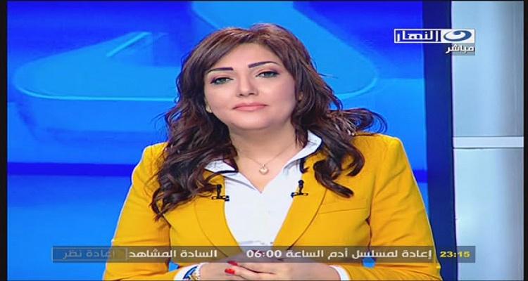 موت مذيعة قناة النهار على الهواء مباشرة... مشهد تقشعر له الابدان ( + 18 )