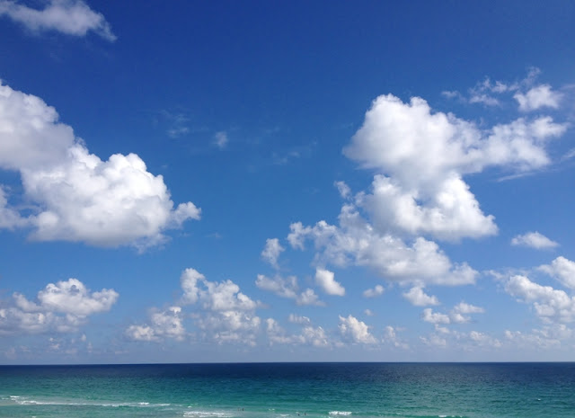 Beach, Horizon and Sky at Pensacola Beach Fl