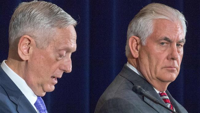 Rex Tillerson, James Mattis clarify US President Donald Trump's China attack