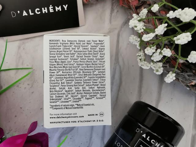 D'alchemy krem nawilzenie