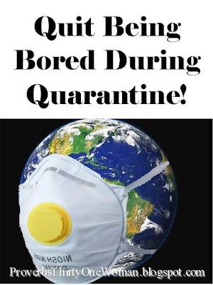 What to do during quarantine shut down