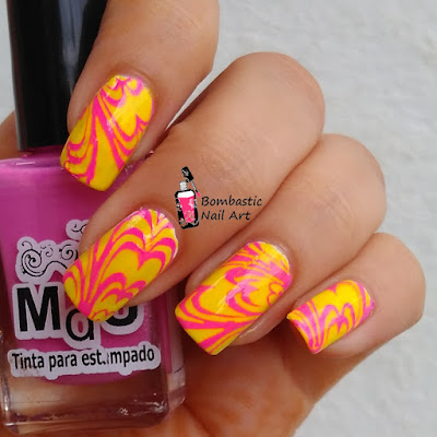 Water Marble Cheat Nails