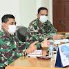 Danlantamal VI Makassar, Pimpin Rapat Staf Utamakan Protokol Kesehatan Covid-19
