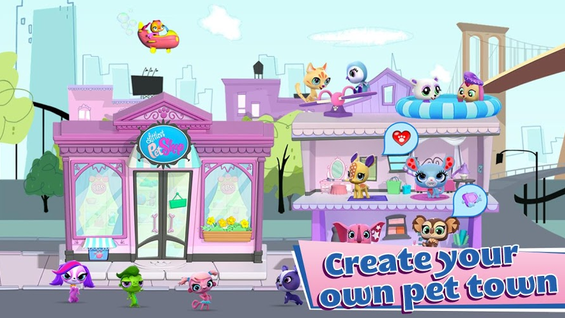 Create your own town pet