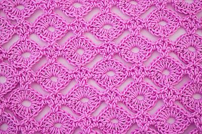 3 - Crochet IMAGEN Puntada de circilos para blusas y jarseys a crochet y ganchillo. MAJOVEL CROCHET