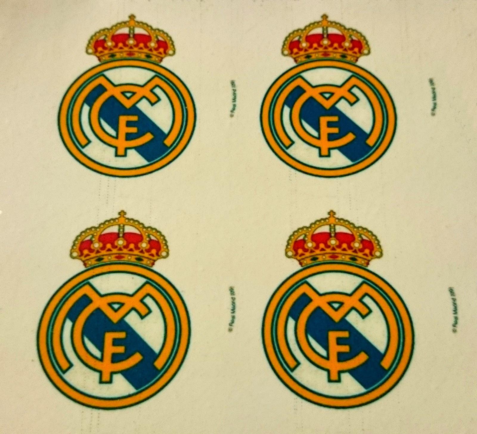 Mi Reino Por Una Galleta Galletas Con Oblea Del Escudo Del Real Madrid