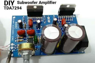 TDA7294 Subwoofer Amplifier Schematic PCB Layout