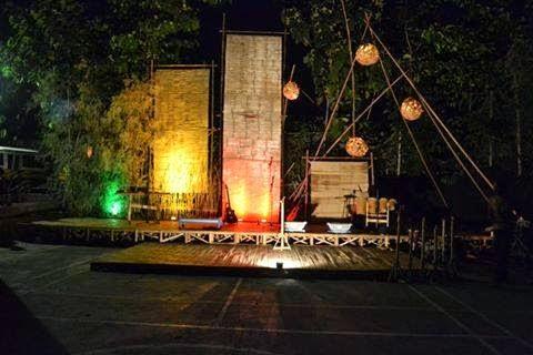 terbaru 28+ dekorasi panggung pentas seni dari bambu untuk