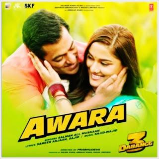 Awara (Dabangg 3) Mp3 Song Download