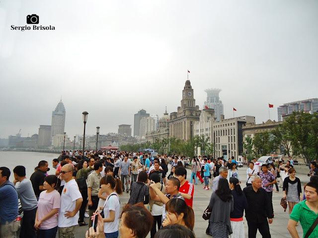 The Bund (Calçadão) - Shanghai