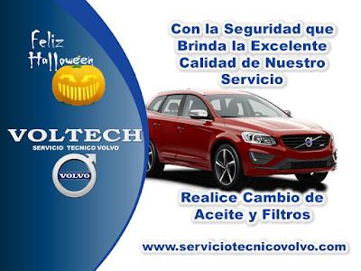 Cambio de Aceite y Filtro Volvo Voltech