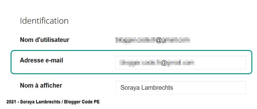 Tous les messages postés via le gadget Formulaire de contact seront envoyés à l'adresse email mentionnée dans le profil de l'administrateur du blog