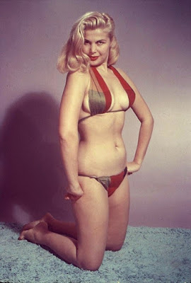 Cleo Moore In Color