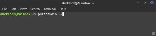 إصلاح ألعاب Steam ، إعادة تشغيل الصوت ، Pulseaudio