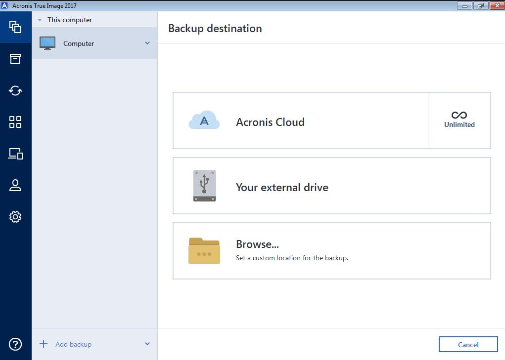Acronis free download windows 10