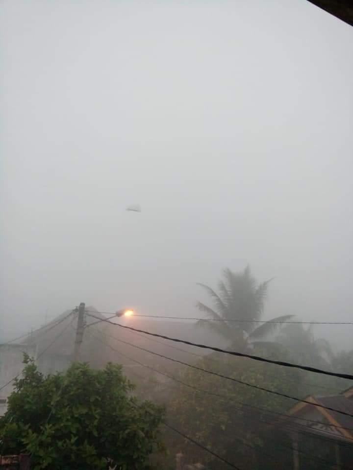 Jangan Mau Dikibuli Penguasa, Begini Kondisi Kabut Asap di Palembang Pagi Ini