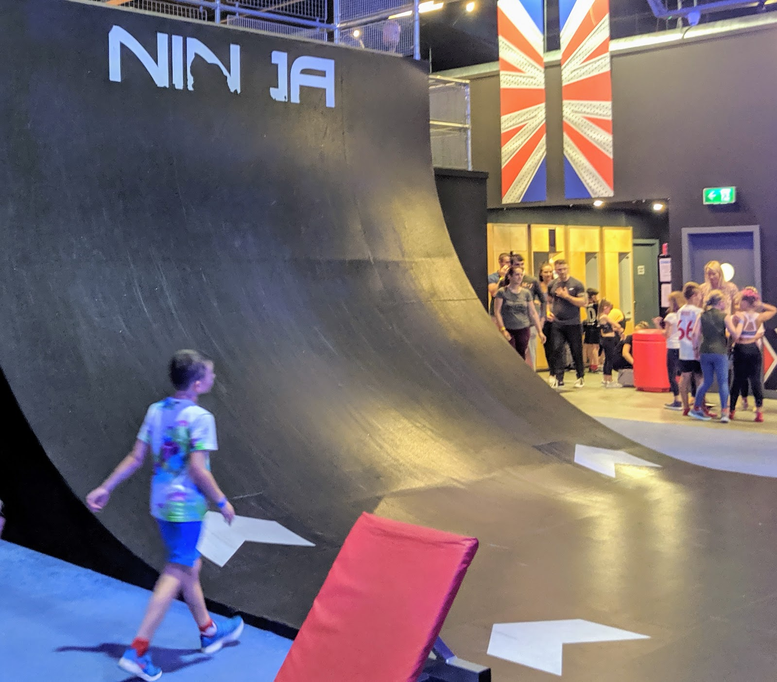 Ninja Warrior Adventure Park Wigan Review  - beat the wall