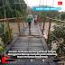 Kondisi Jembatan Gantung di Kluet Tengah, Menggamat Menuju Gampong Koto Indarung Butuh Perhatian Pemerintah