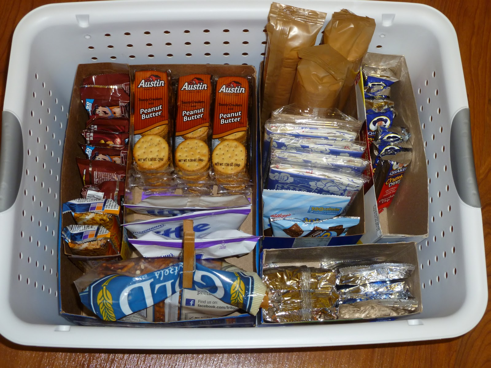 8 Kids Storage And Organization Ideas: Organizing Children's Snacks