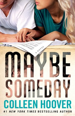 Maybe Someday Colleen Hoover book cover