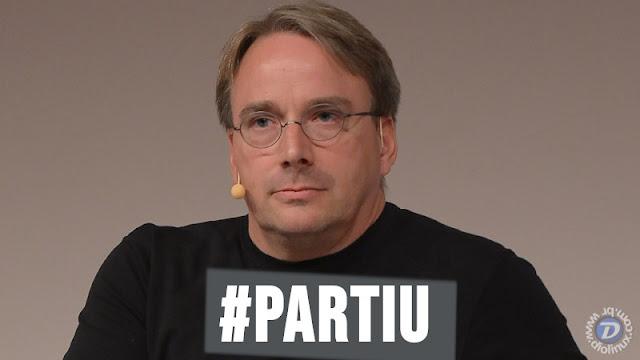 """Linus Torvalds solta e-mail pedindo desculpas pelos anos de """"destempero"""" e """"tira férias"""" do Linux"""