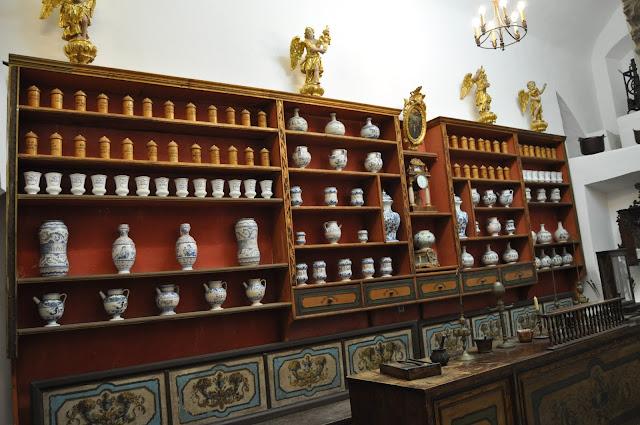 Farmacia antigua en el Monasterio Franciscano - Que ver en Dubrovnik