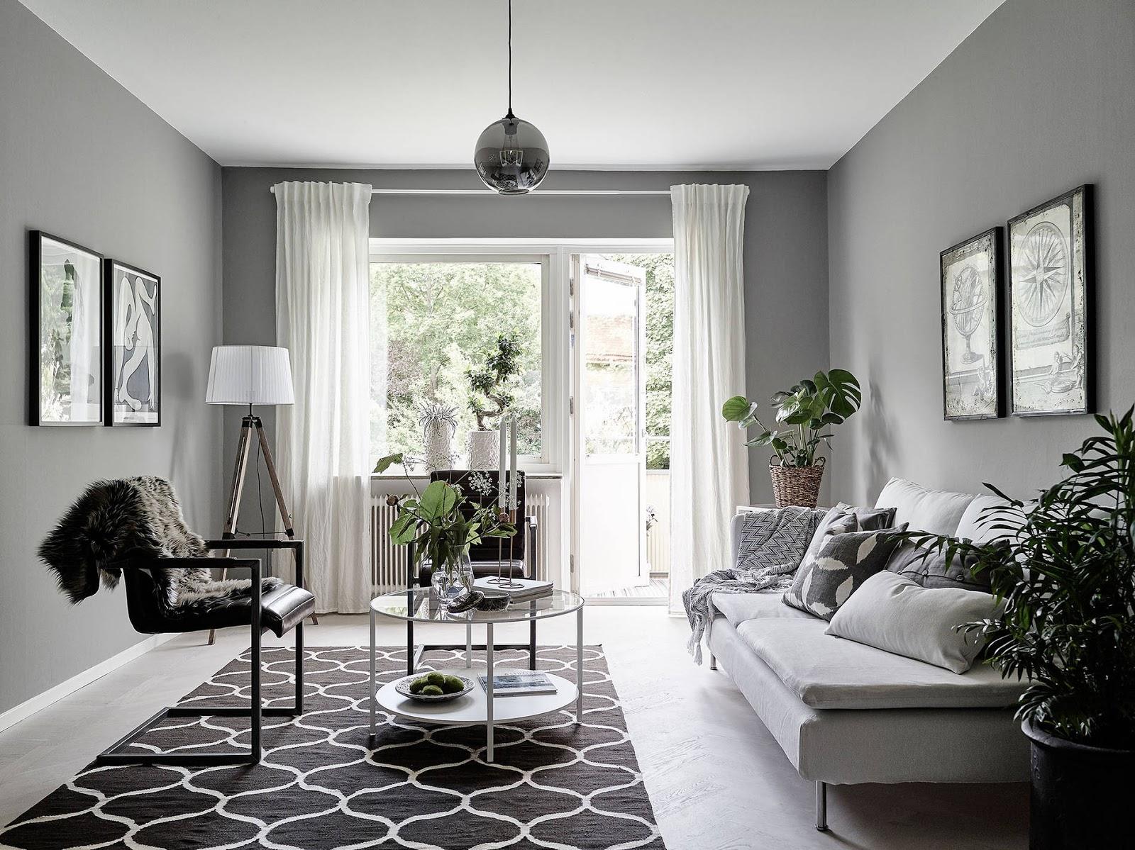 dywan IKEA, dywan w stylu skandynawskim