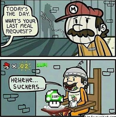 Mario's Final Meal Request
