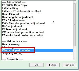 Cara Reset Epson L1300 100% Berhasil dengan Baik