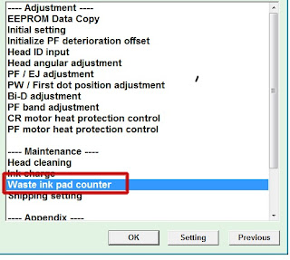Cara Mudah Reset Epson L555 Service Required
