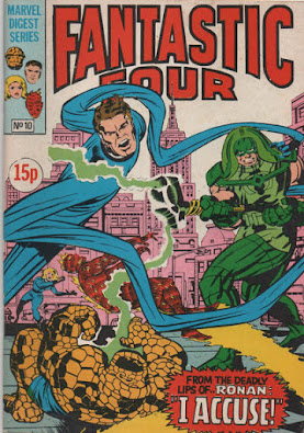 Fantastic Four Pocket Book #10, Ronan the Accuser