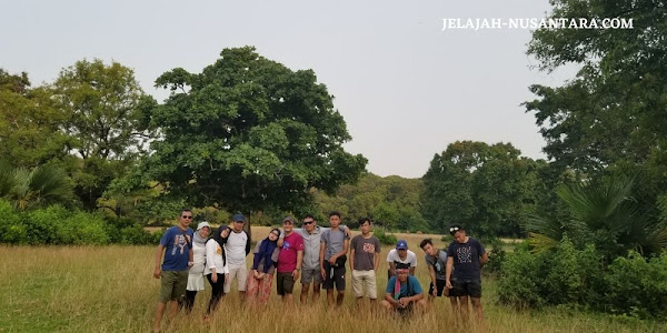 wildlife monitoring wisata private trip pulau peucang ujung kulon banten