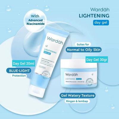 wardah lightening day gel advanced niacinamide