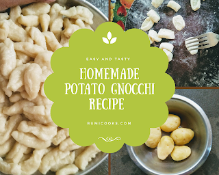 Potato Gnocchi (Gnocchi de patate) are like small dumplings made from potato, flour and egg. Gnocchi are varieties of Italian pasta you can make at home.