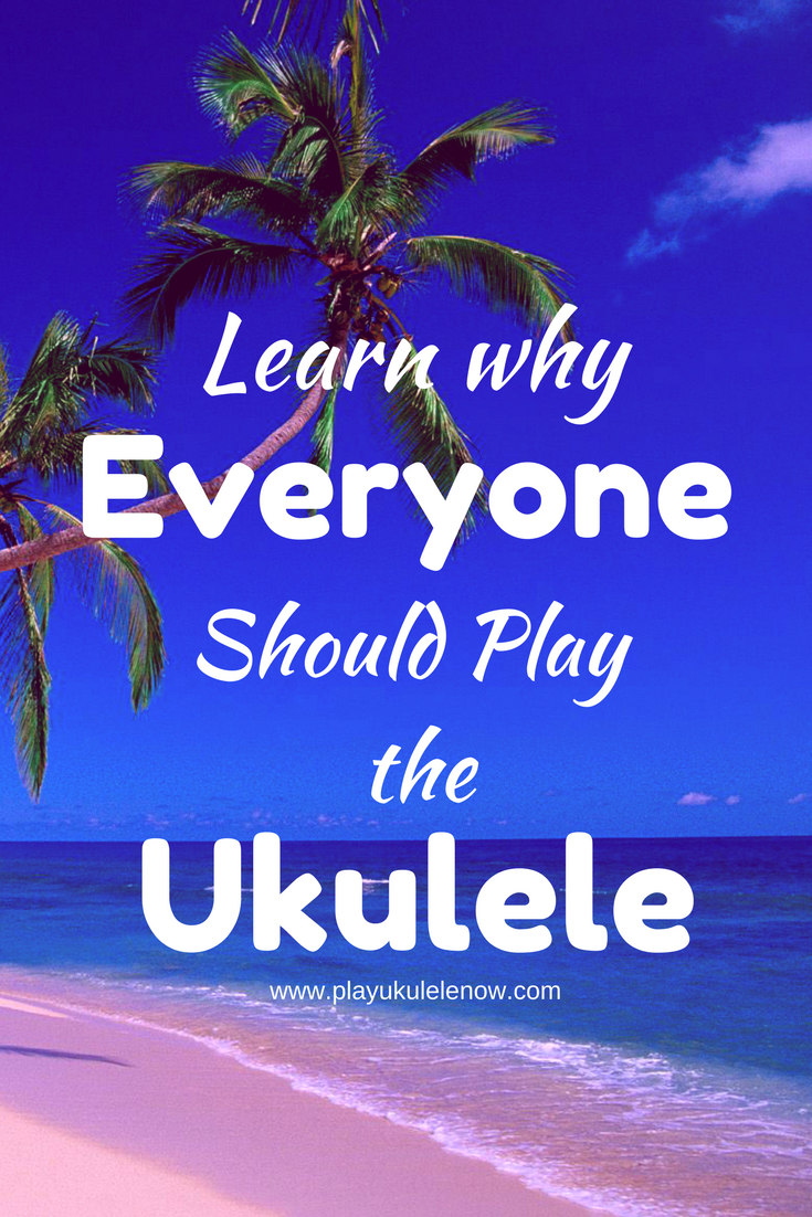 George Harrison explains why everyone should play the ukulele!